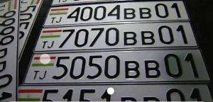 Производство и восстановление номера авто Таджикистана